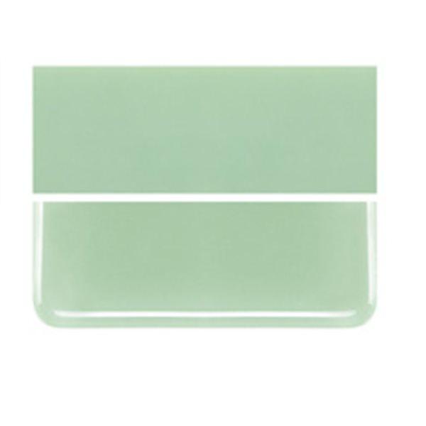 Bullseye Mint Green - Opaleszent - 3mm - Fusing Glas Tafeln