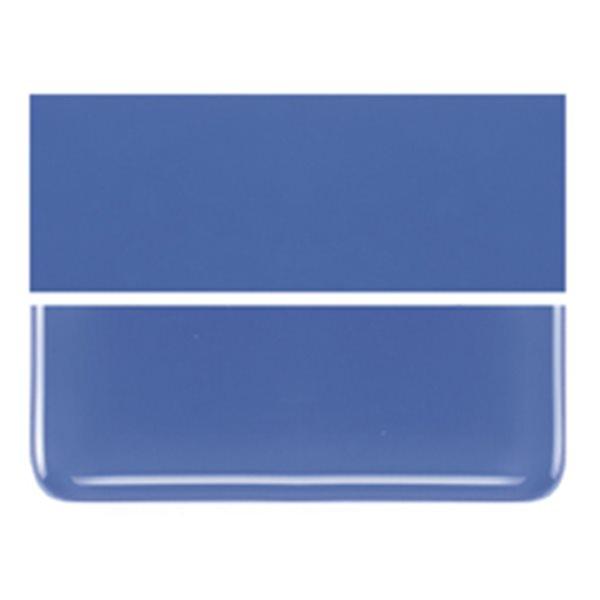 Bullseye Cobalt Blue - Opaleszent - 2mm - Thin Rolled - Fusing Glas Tafeln