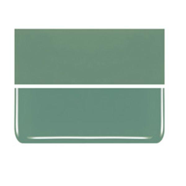 Bullseye Mineral Green - Opaleszent - 3mm - Fusing Glas Tafeln