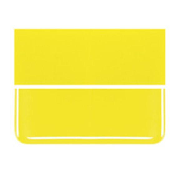 Bullseye Canary Yellow - Opaleszent - 3mm - Fusing Glas Tafeln