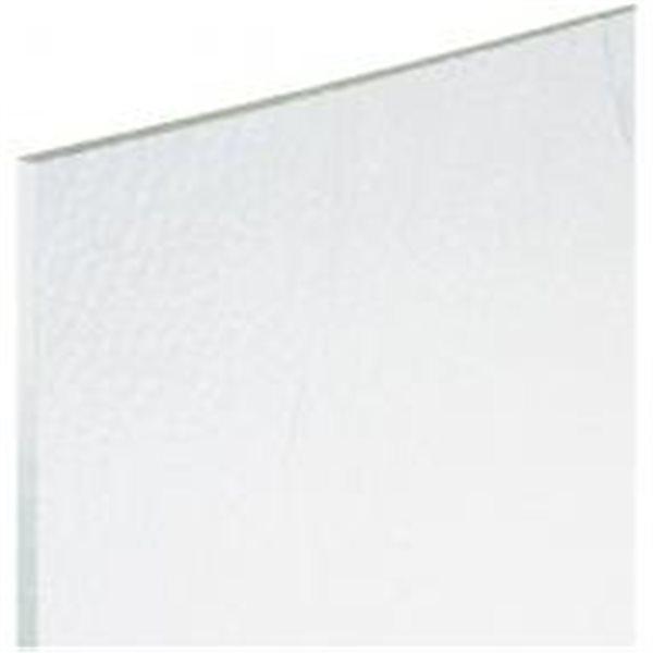 Bullseye Clear - 3mm - Double Rolled - Fusing Glas Tafeln