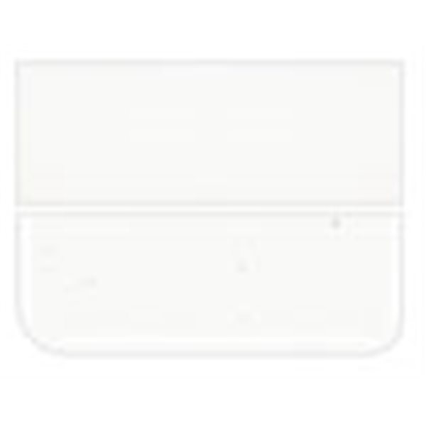 Bullseye Clear - 2mm - Thin Rolled - Fusing Glas Tafeln