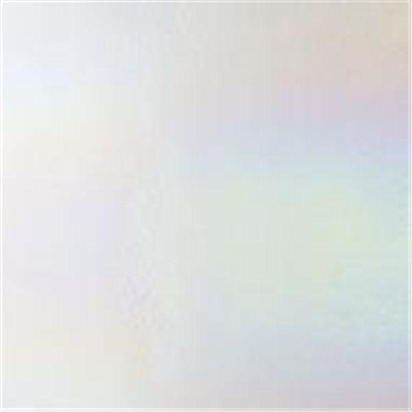 Bullseye Clear - Transparent - Rainbow Irid - 2mm - Fusing Glas Tafeln