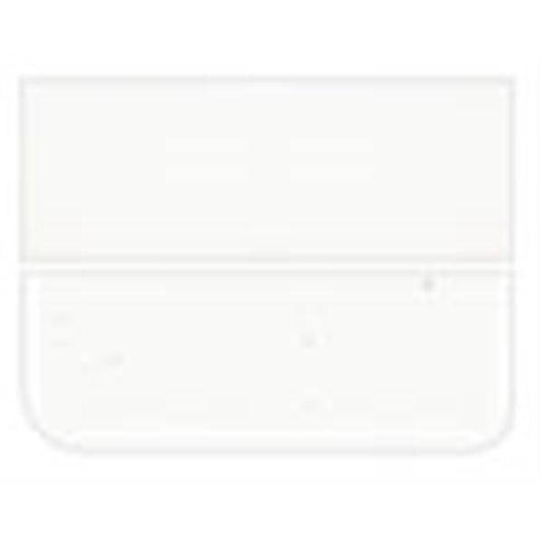 Bullseye Clear - 6mm - Single Rolled - Fusing Glas Tafeln