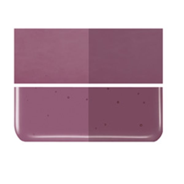 Bullseye Deep Plum - Transparent - 3mm - Fusing Glas Tafeln