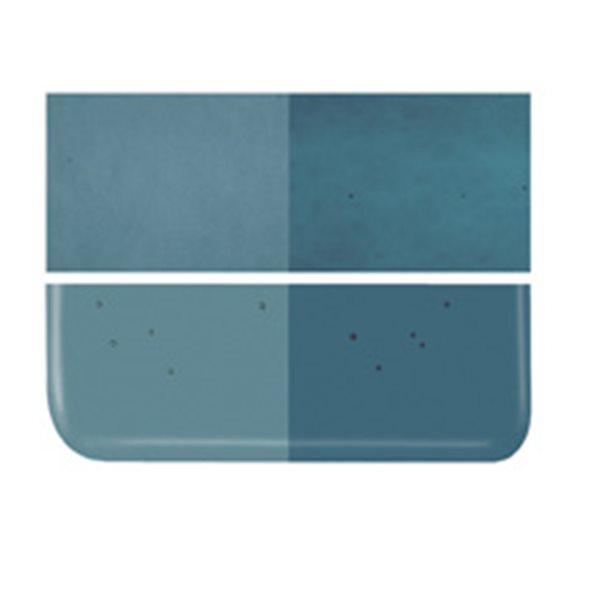 Bullseye Aquamarine Blue - Transparent - 3mm - Fusing Glas Tafeln