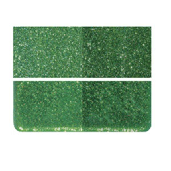 Bullseye Aventurine Green - Transparent - 3mm - Fusing Glas Tafeln