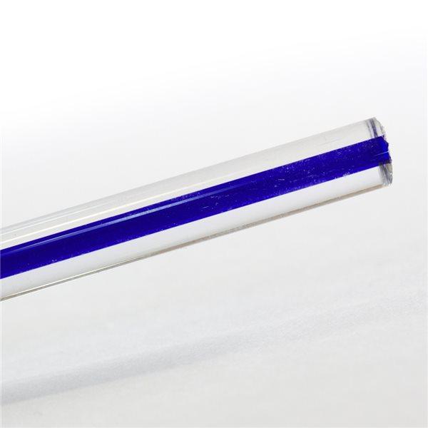 Effetre Murano Stange - Filigrana Blu - 5-6mm