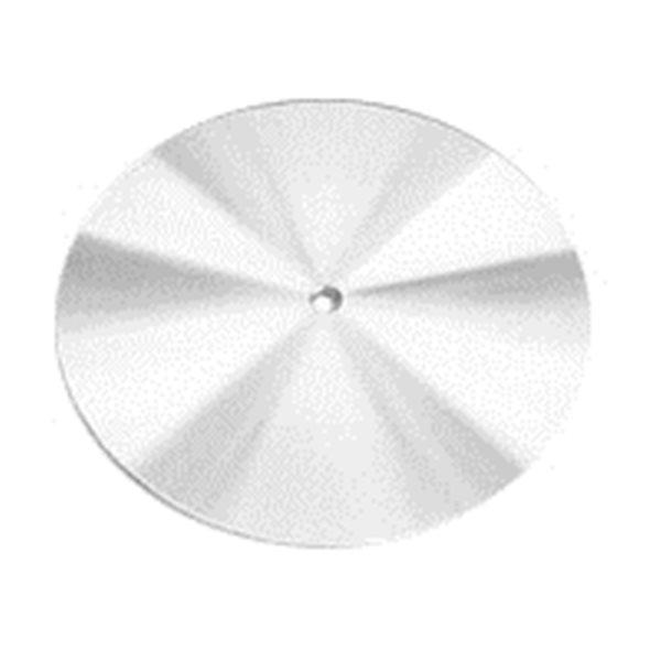 Glastar - Basisplatte Stahl - 30cm