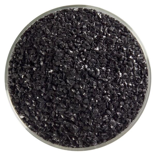 Bullseye Frit - Black - Mittel - 2.25kg - Opaleszent