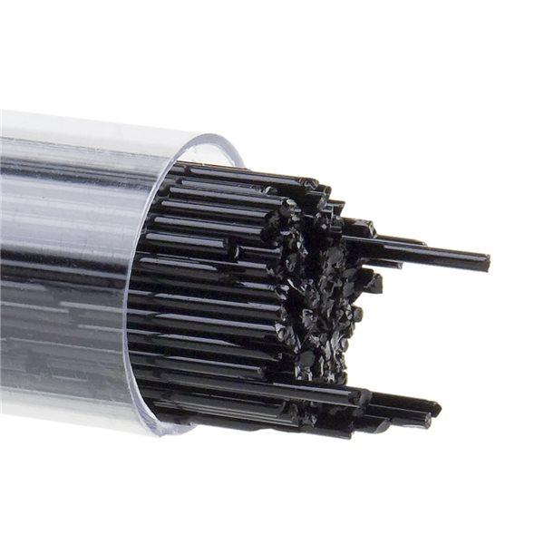 Bullseye Stringer - Black - 1mm - 180g - Opaleszent