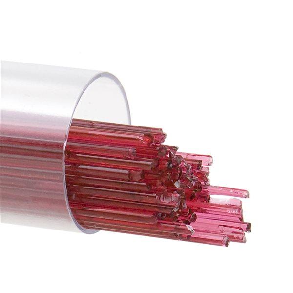 Bullseye Stringer - Cranberry Pink - 1mm - 126g - Transparent
