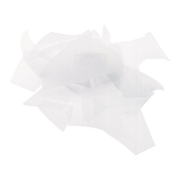 Bullseye Confetti - White - 450g - Opaleszent
