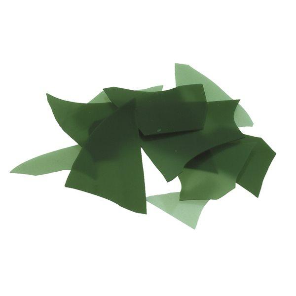 Bullseye Confetti - Mineral Green - 450g - Opaleszent