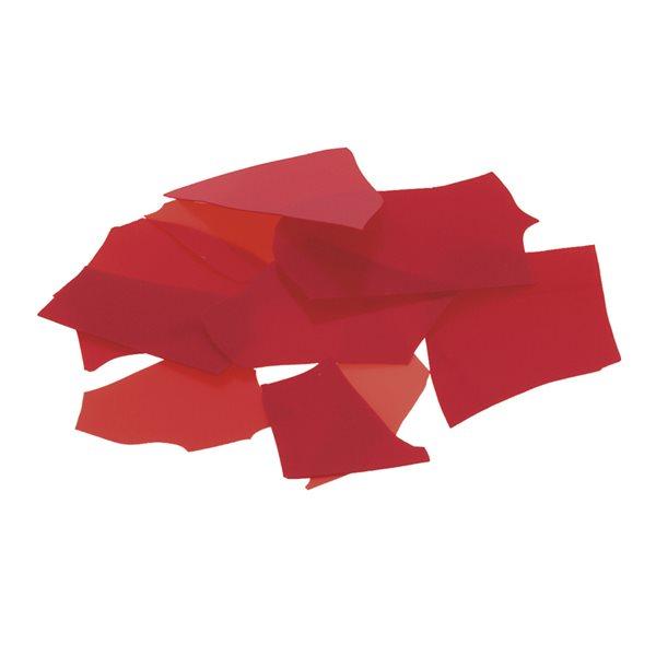 Bullseye Confetti - Red - 50g - Opaleszent