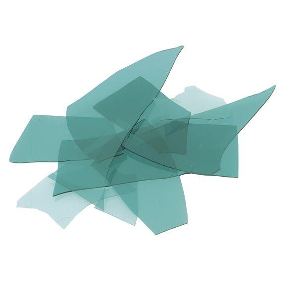 Bullseye Confetti - Aquamarine Blue - 450g - Transparent