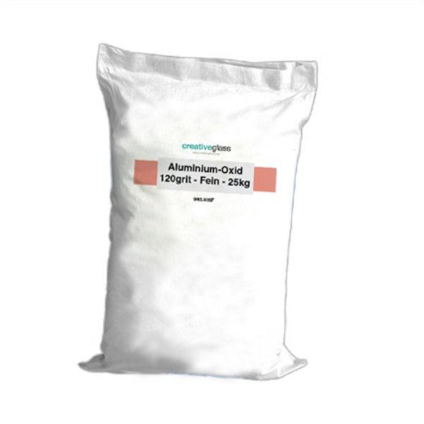 Aluminium-Oxide - 120grit - Fine - 25kg
