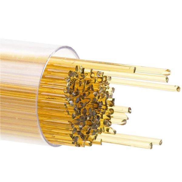 Bullseye Stringer - Medium Amber - 1mm - 180g - Transparent