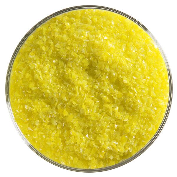 Bullseye Frit - Canary Yellow - Mittel - 450g - Opaleszent