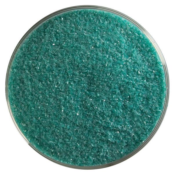 Bullseye Frit - Teal Green - Fein - 450g - Opaleszent