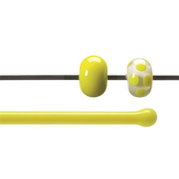 Bullseye Stange - Canary Yellow - 4-6mm - Opaleszent