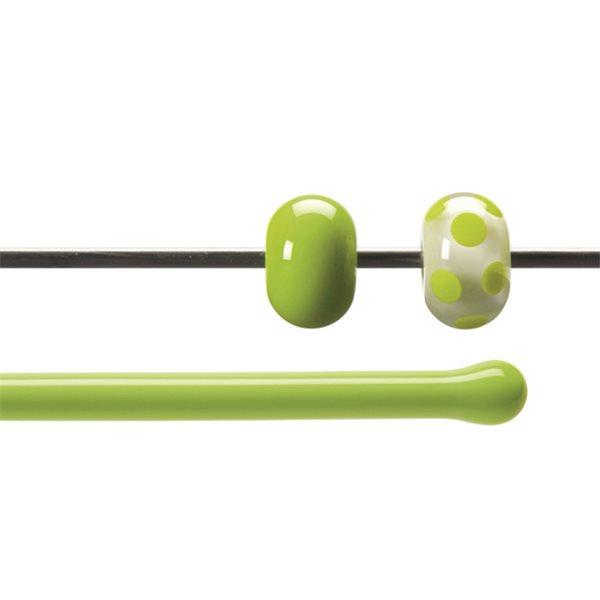 Bullseye Stange - Spring Green - 4-6mm - Opaleszent
