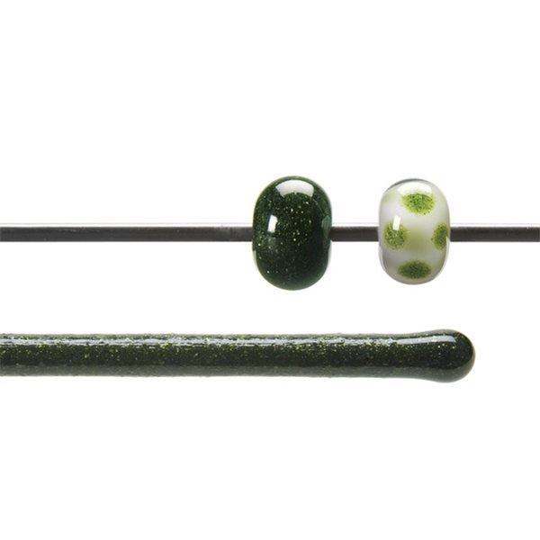 Bullseye Stange - Light Aventurine Green - 4-6mm - Transparent