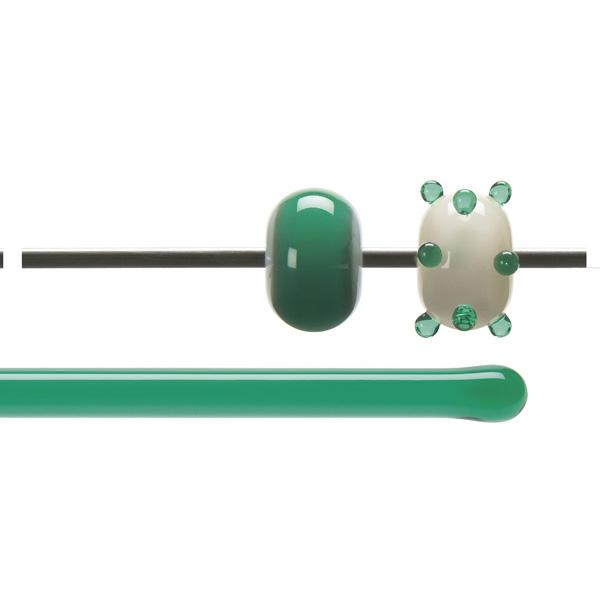 Bullseye Stange - Emerald Green - 4-6mm - Transparent