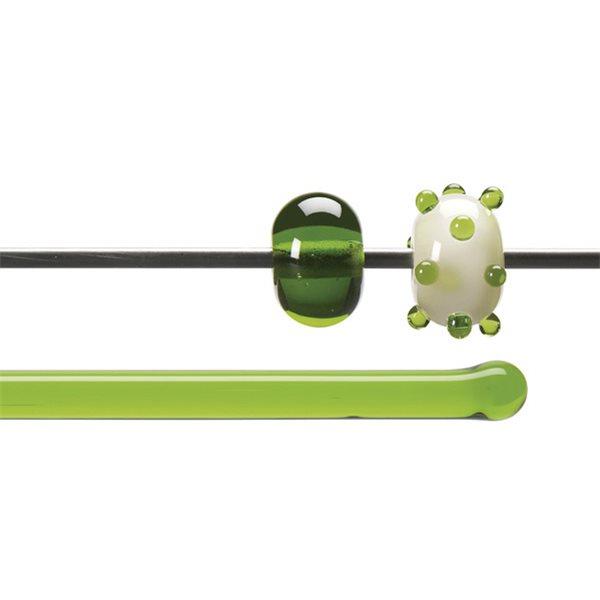 Bullseye Stange - Spring Green - 4-6mm - Transparent