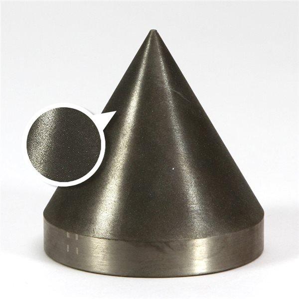 """Diamond Cone - 600 grit - 3x3"""" (76x76mm) - 60°"""