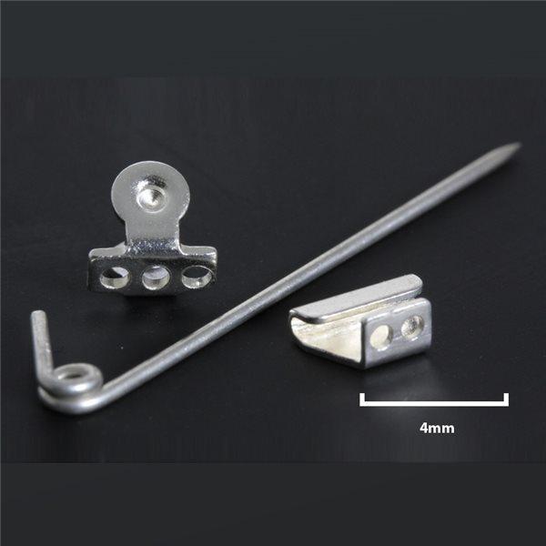 Broschennadel - Silber 980/925 - 35mm - 1 Stk.