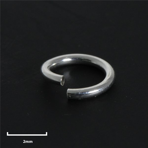 Rundösen - Silber 925 - 4mm - 50 Stk.