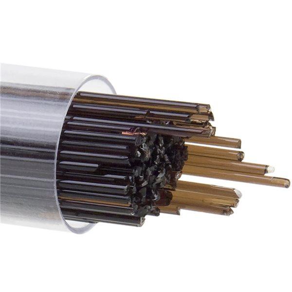 Bullseye Stringer - Dark Rose Brown - 1mm - 180g - Transparent