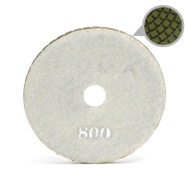 Smoothing Pad Diamond Resin - 100mm - 800 grit - White