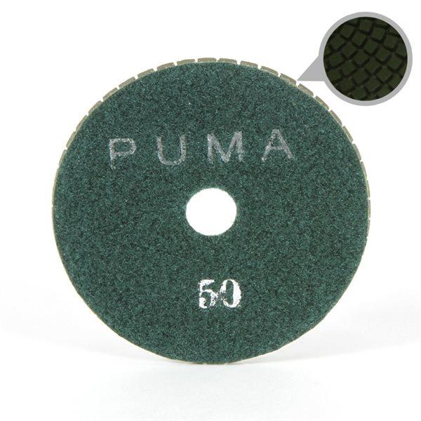 Smoothing Pad Diamond Resin - 100mm - 50 grit - Green
