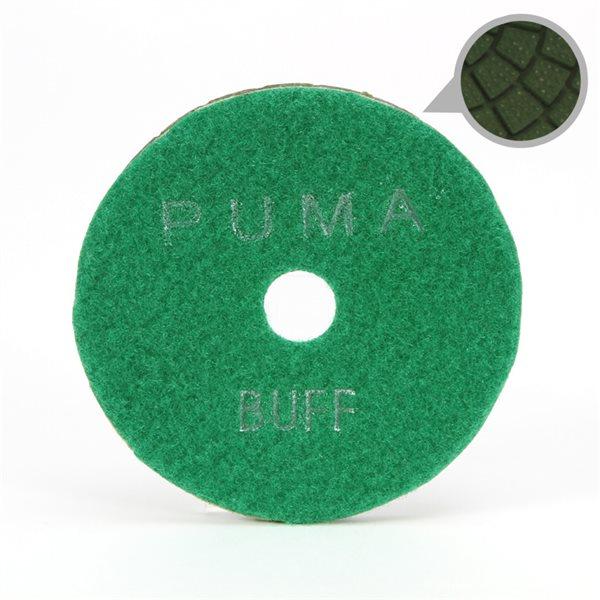 Smoothing Pad Diamond Resin - 100mm - 10000 grit - Light Green