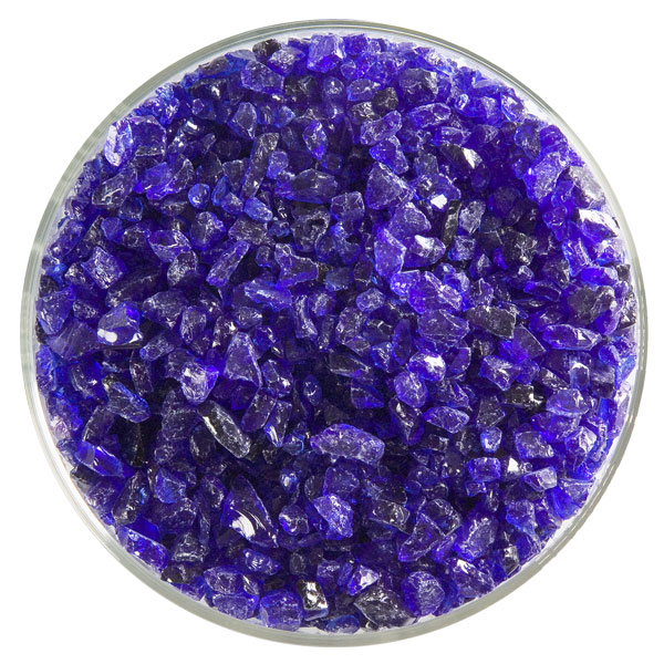 Bullseye Frit - Gold Purple - Grob - 450g - Transparent