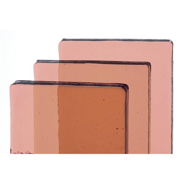 Bullseye Billets - Coral Orange Tint - Transparent
