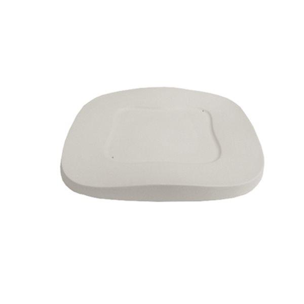 Square Wavy Plate - 28.8x28.8x2.5cm - Basis: cm - Fusing Form