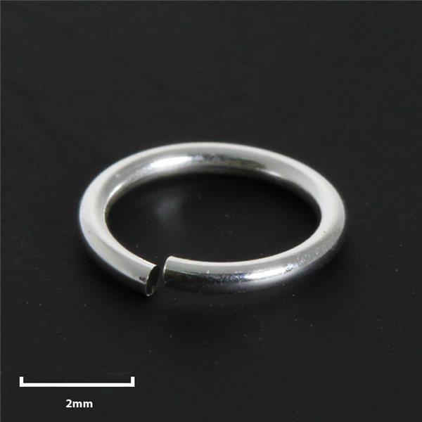 Rundösen - Silber 925 - 5mm - 50 Stk.