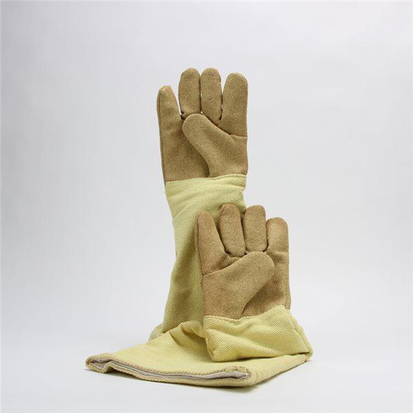 Hi-Temp 5-Finger-Gloves - PBI - 1000°C - 60cm