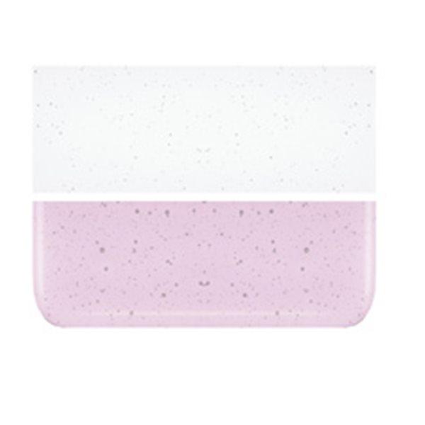 Bullseye Ruby Pink Striker Tint - Transparent - 3mm - Plaque Fusing