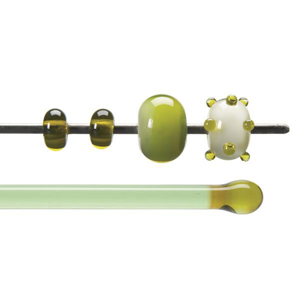 Bullseye Stange - Chartreuse - 4-6mm - Transparent