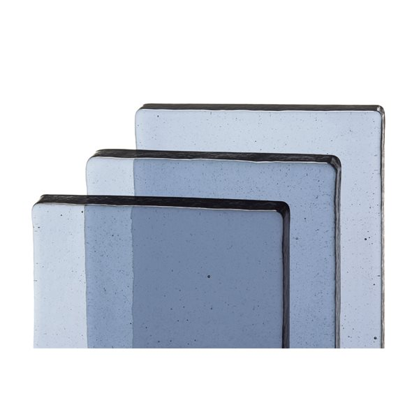 Bullseye Billets - Gray Blue Tint - Transparent