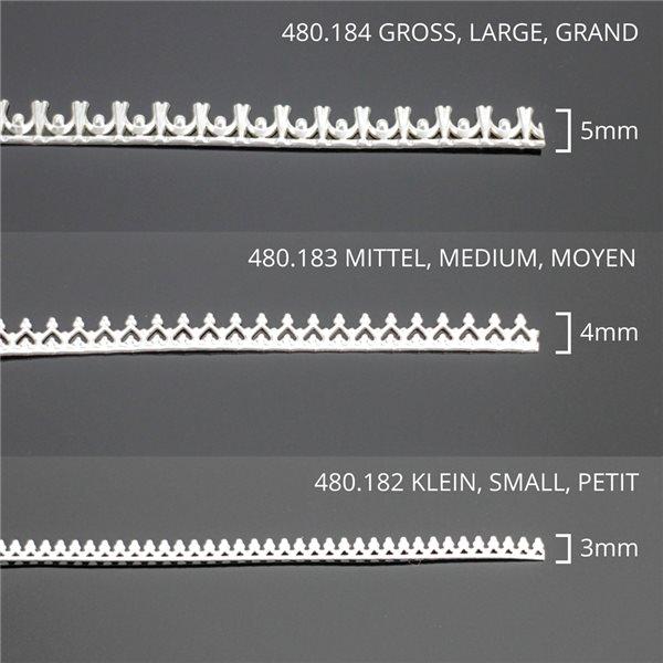Sterling Silber - Zierdraht - Mittel - 30cm