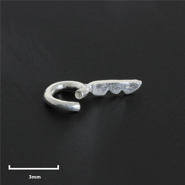 Offene Stecköse - Silber 980 - 10 Stk.