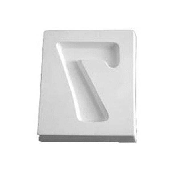Number 7 - 12.2x10.2x1.9cm - Ouverture: 9.1x6.7cm - Moule pour Fusing