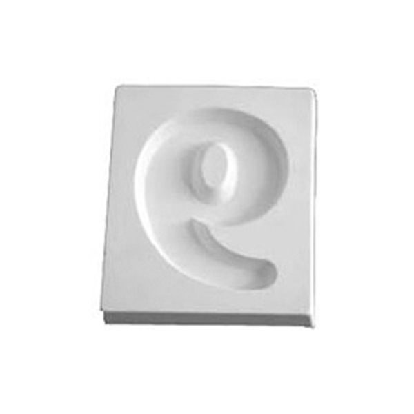 Number 9 - 12.3x10.3x1.9cm - Öffnung: 9.6x7.5cm - Fusing Form