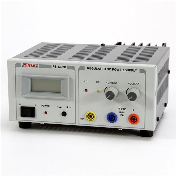 Digitales Lineares Netzgerät PS-1302 D - 2Amp
