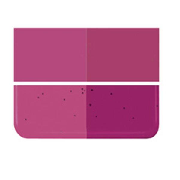 Bullseye Fuchsia - Transparent - 2mm - Thin Rolled - Fusing Glas Tafeln